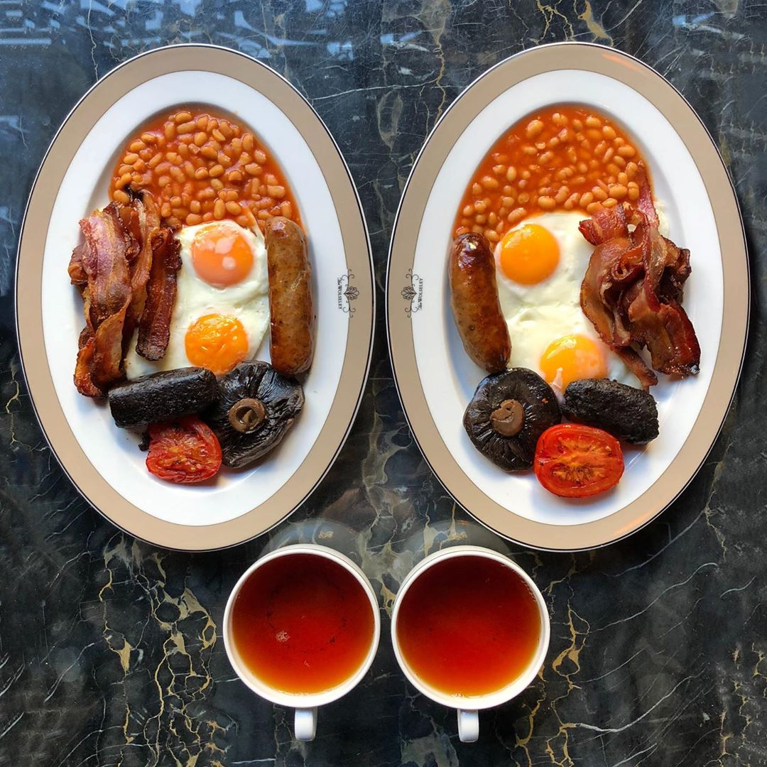Fry up at The Wolseley 🇬🇧