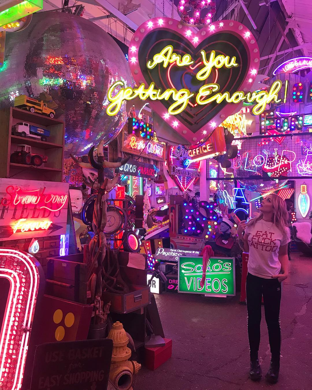 Alphabet Dating Ideas London –G is for God's Own Junkyard