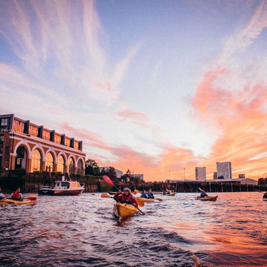 Alphabet Dating Ideas London – K is for Kayak